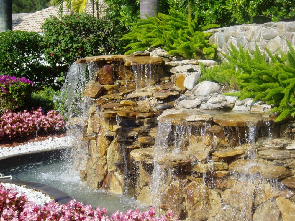 Landscaping With Water Feature