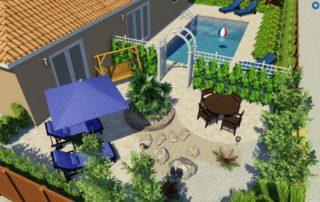 Boca Raton Pool patio Design_001