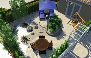 Boca Raton Pool patio Design_002
